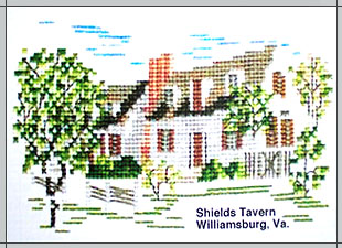The Shields Tavern Cross Stitch Kit